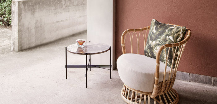 Gubi presenta el sillón de ratán Grace, un proyecto de la diseñadora danesa Tove Kindt-Larsen descubierto recientemente