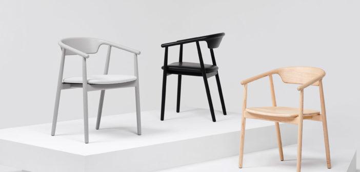 Leva, la primera silla de madera diseñada por Foster + Partners, producida de forma sostenible por Mattiazzi