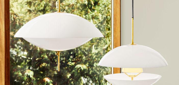 Fritz Hansen presenta Clam, una lámpara de suspensión de vidrio opalino diseñada por el estudio Ahm & Lund