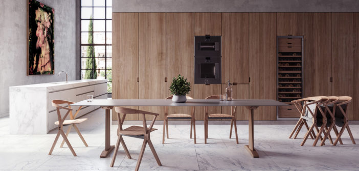 La Table B, diseñada por Konstantin Grcic para BD Barcelona en 2001, se convierte ahora en una nueva colección de mesas para usos diversos