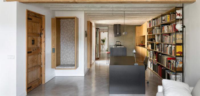 Los arquitectos Elisabetta Quarta Colosso y Antoni Millson  reforman un piso en el Born de Barcelona con criterios bioclimáticos