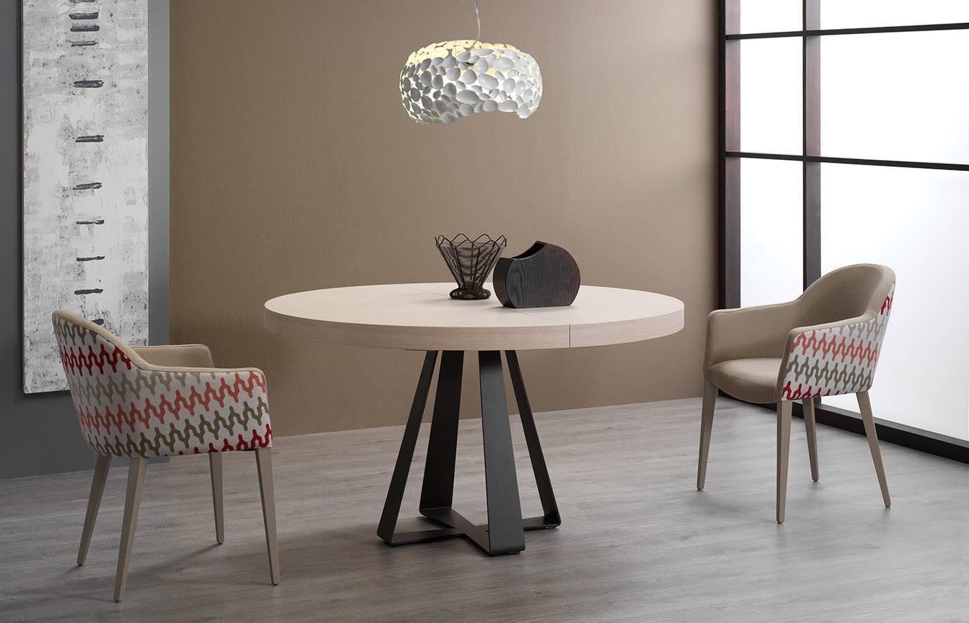 Mesas de comedor extensibles redondas | Dismobel