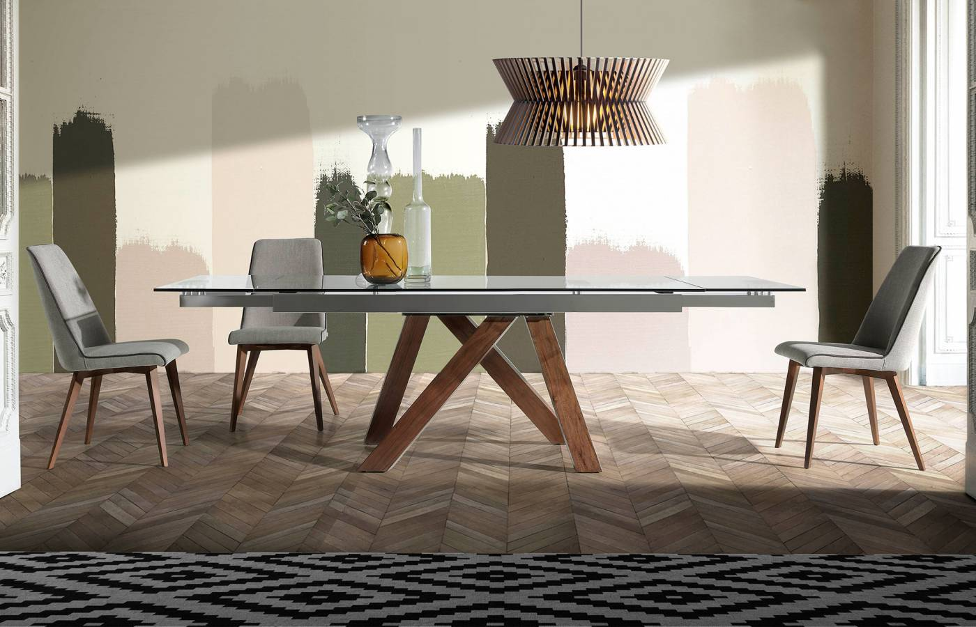 Mesas de comedor extensibles rectangulares | Dismobel