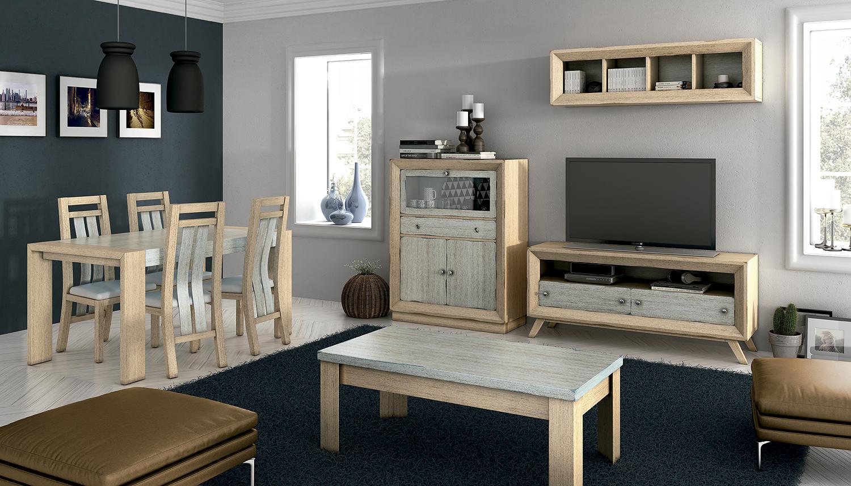 Nueva colecci n vintage para los amantes del mueble tradicional adaptado a las ltimas tendencias - Modelos de muebles de salon ...