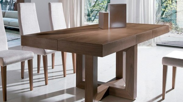Esquineras en muebles toscana for Mesas salon comedor extensibles