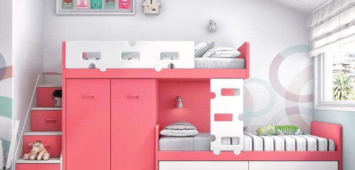 Tipos de camas infantiles que puedes elegir para las habitaciones de tus hijos