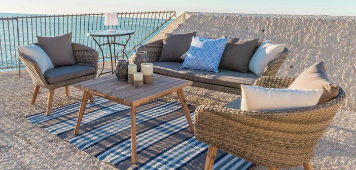 Disfruta del buen tiempo al aire libre con una selección de muebles de terraza y jardín para la temporada 2018
